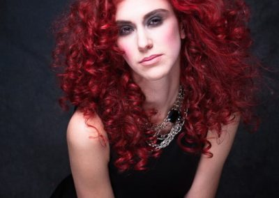 portrait-red-curly-hair-model